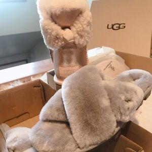UGG Slippers and Boots Size 6